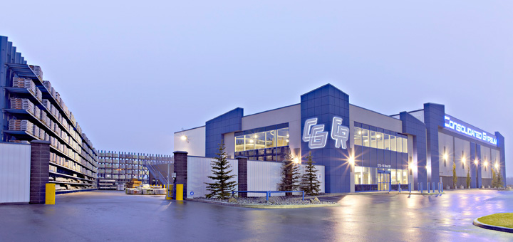Consolidated Gypsum Edmonton South, Edmonton, Alberta, Canada