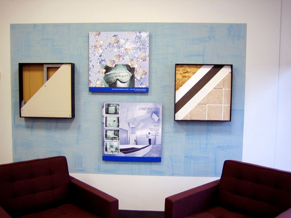 Lovely Private Office Wall Display: USG Corporate Innovation Center