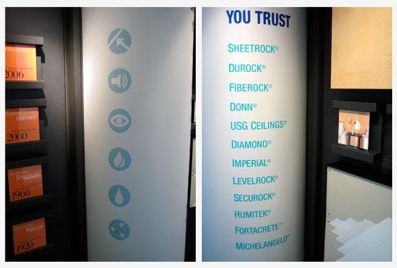 Tour Group Exhibit: USG Corporate Innovation Center